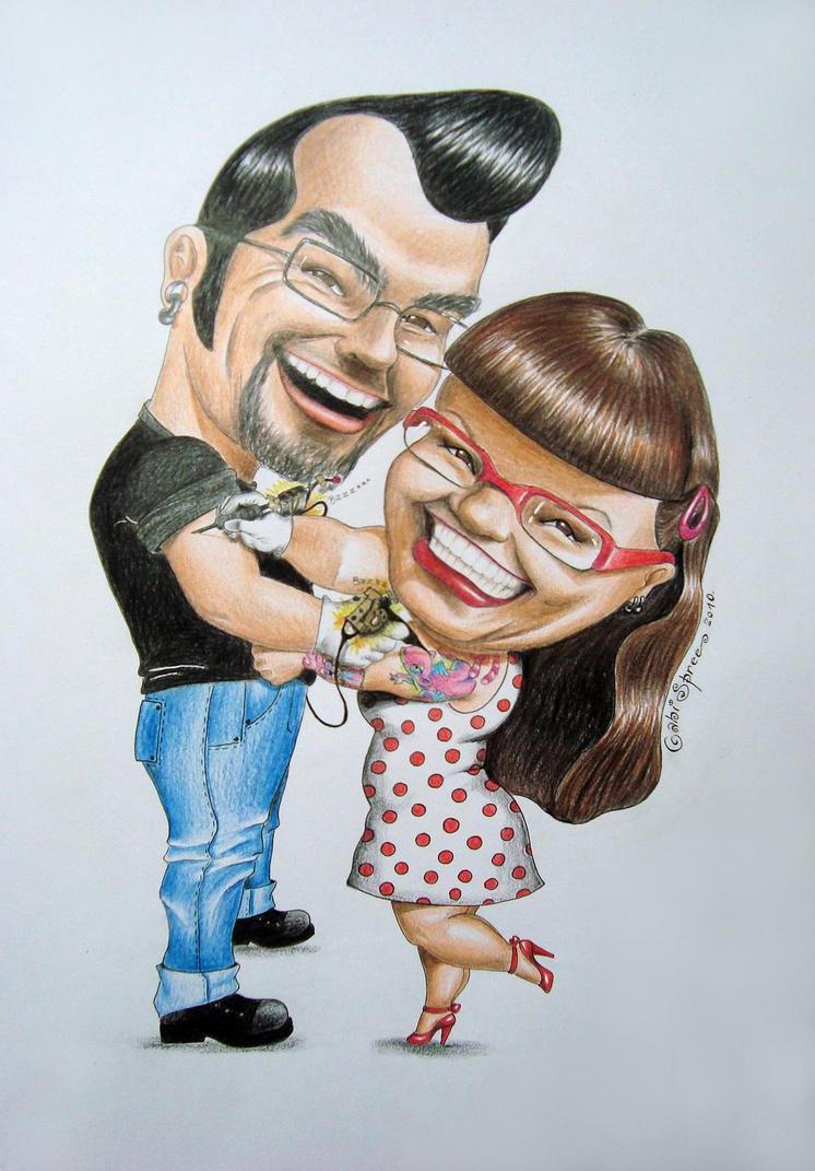 rockabilly couple by GabiSpree on deviantART