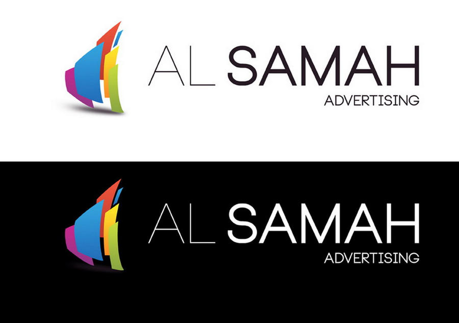 Al samah Advertising logo by zubairgd on DeviantArt