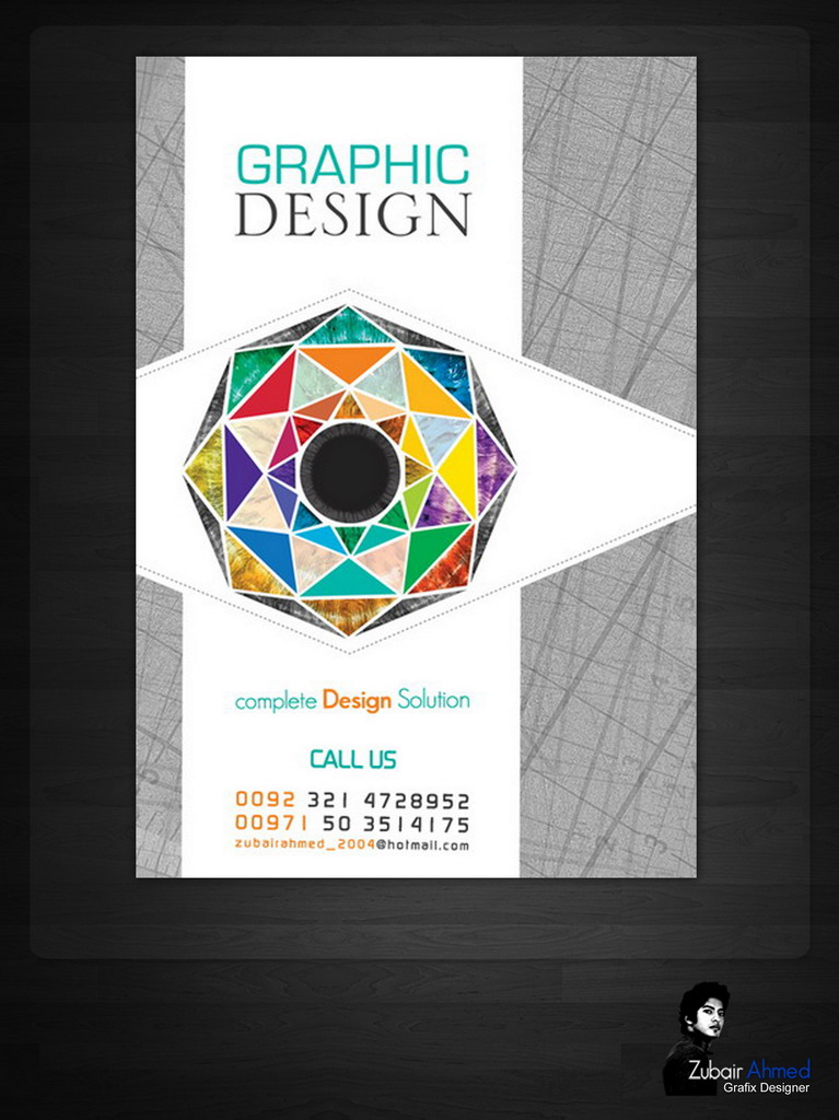 freelance graphic design advertising poster by zubairgd on