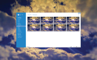 New Windows Explorer - Preview 1 by jukasj
