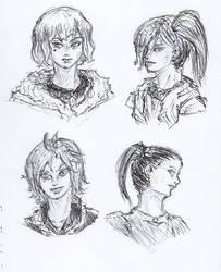 Pen Sketch #30 by nycnoa