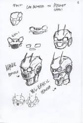 Pen Sketch #8 by nycnoa