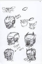 Pen Sketch #9 by nycnoa