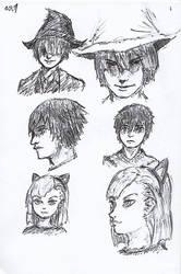 Pen Sketch #1 by nycnoa
