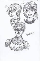Pen Sketch #7 by nycnoa