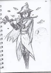 Pen Sketch #40 by nycnoa