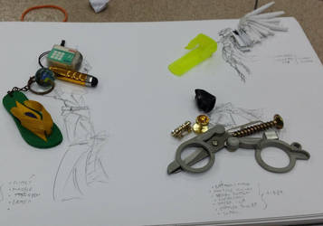 Assemblage Art Doodles [1/4] by nycnoa