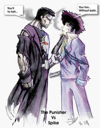 The Punisher vs Spike