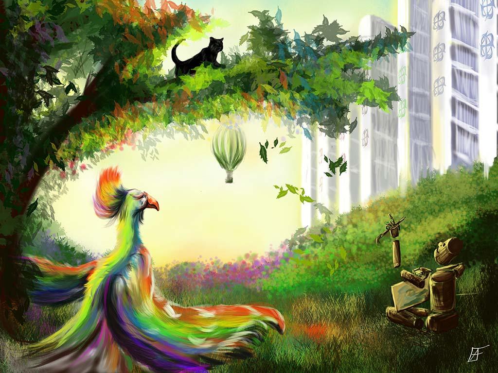 magical world of Photoshop by yevgeshKA
