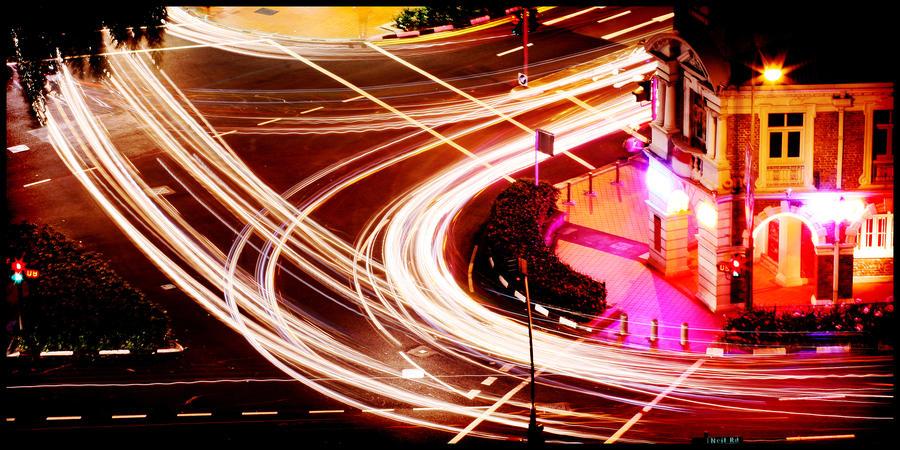 Traffic by waiaung