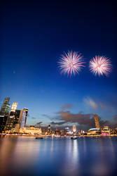 Happy Birthday Singapore II by waiaung