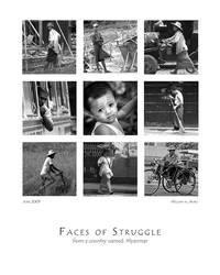 Faces of Struggle... by waiaung