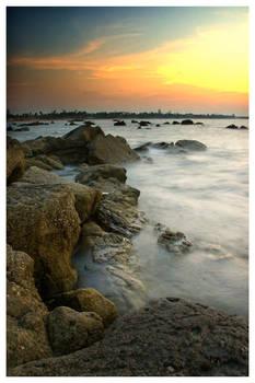 Beach Sunset IV