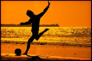 Beach Soccer I by waiaung