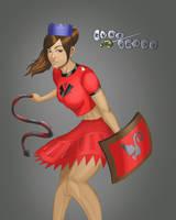 Runescape Dragon Girl by Itachi441
