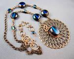 Serenade in Blue Necklace