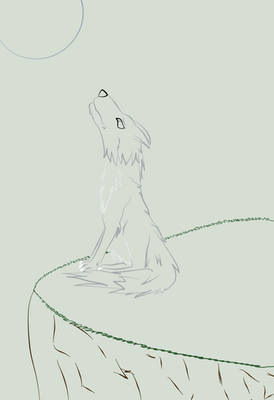 Wolf's Tears LineArt - Color