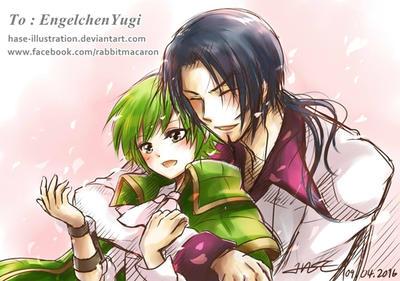 For EngelchenYugi by hase-illustration