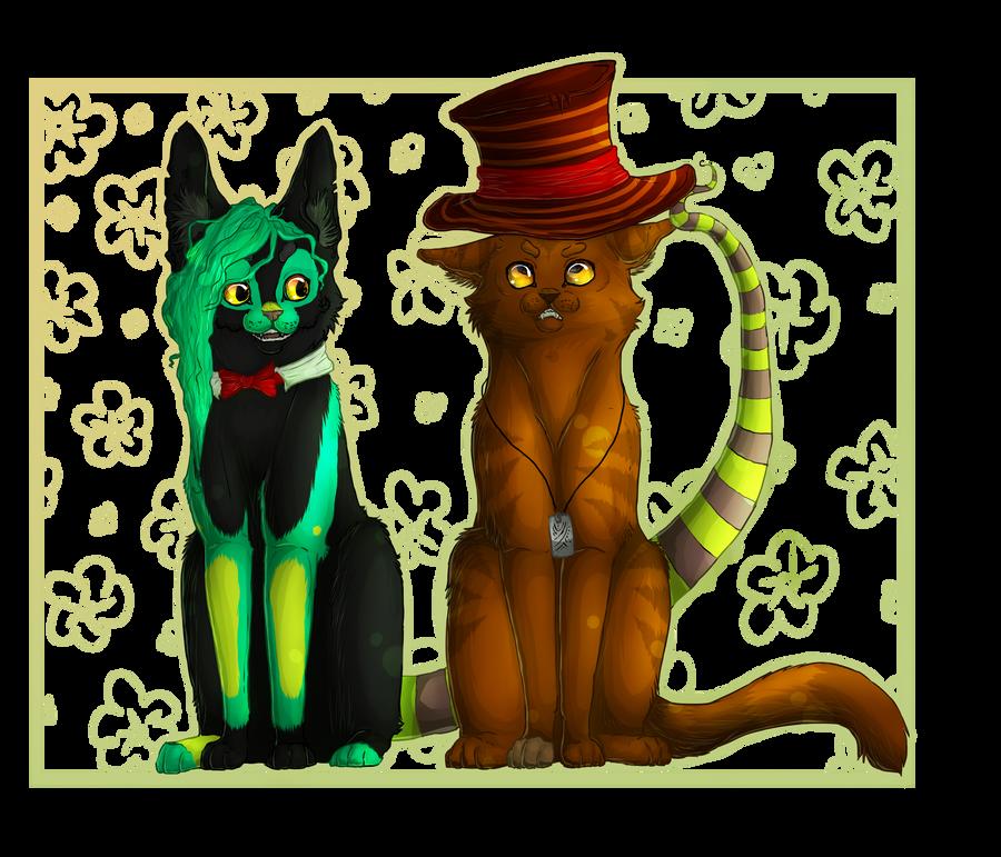 Karia and Monsieur Black by Madlaid