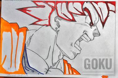 Goku (False SSG)