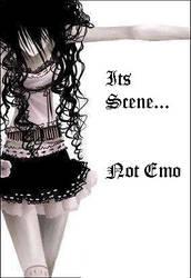 scene not emo
