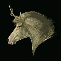 Unicorn Portrait I