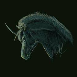 Unicorn Portrait III