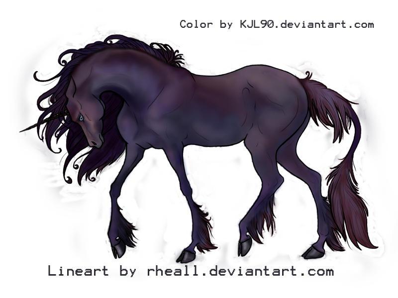 Rheall's Ooneecorn, colored by KJL90