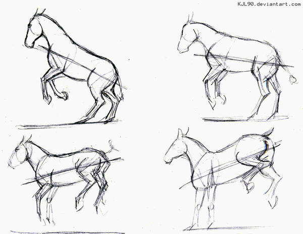 how to draw a mule