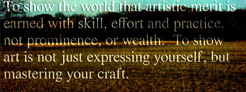 A quote on today's art world. by ThomasTheSpaceFox