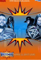 WWE WrestleMania 33 Custom Poster - MrPHNML by MrPHENOMENAL15