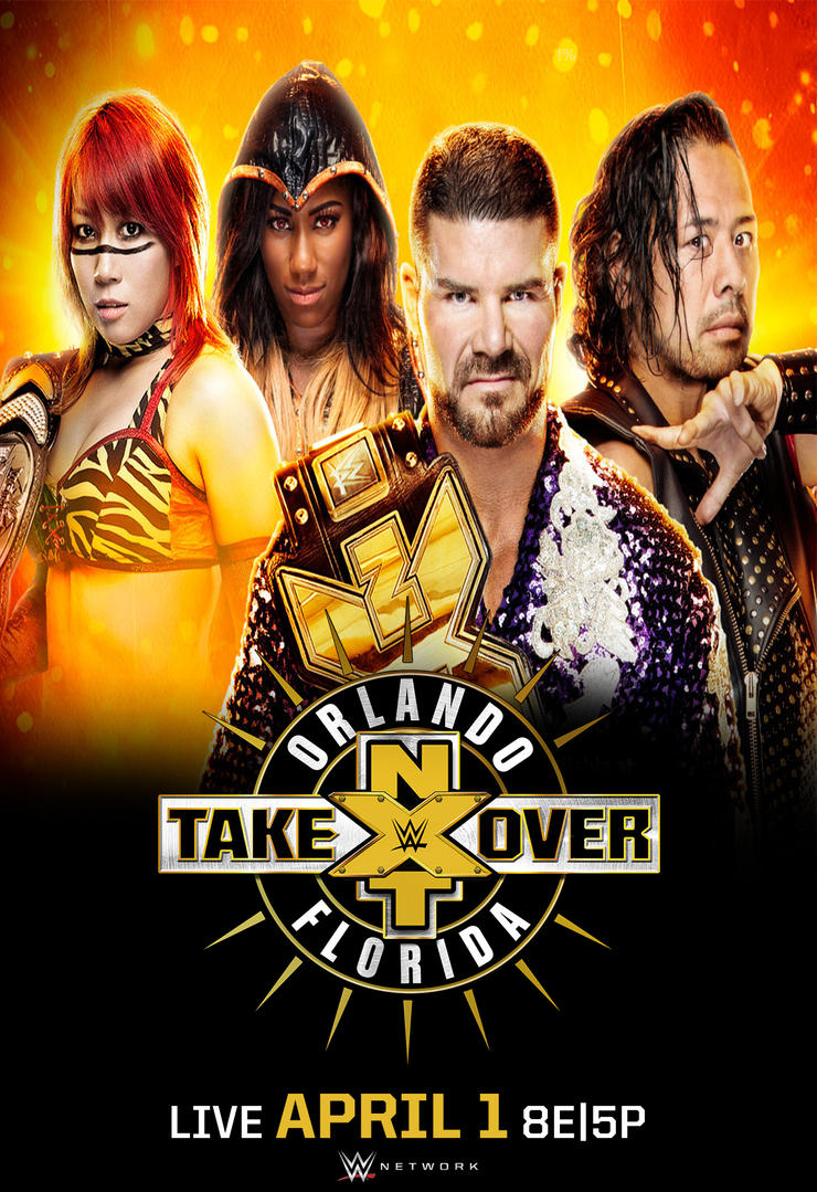 NXT Takeover: Orlando Official Poster by MrPHENOMENAL15