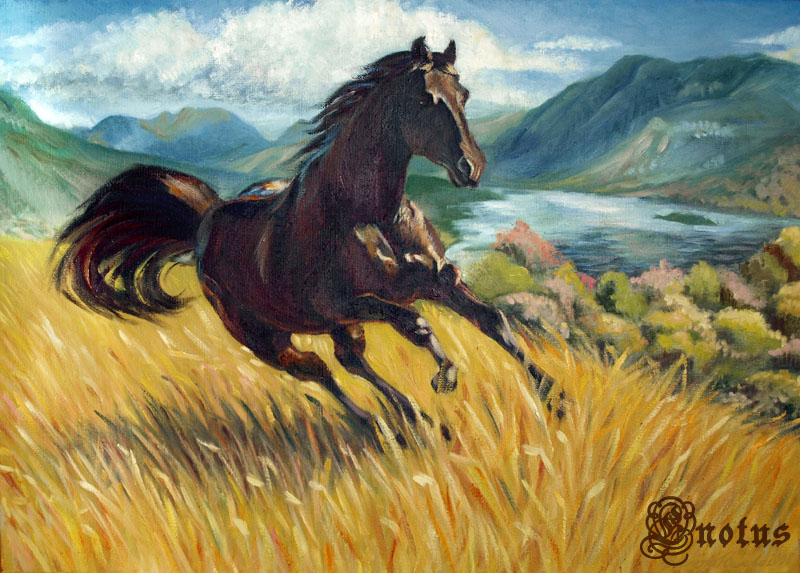 Svetlana's Horse by Enotus