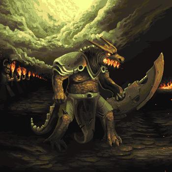 Dragon Wars Renekton by philippejugnet