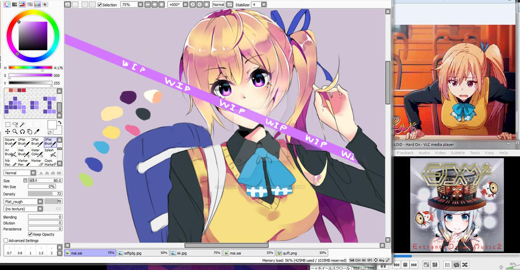 Coloring Wip by AoiOgataArtist on DeviantArt