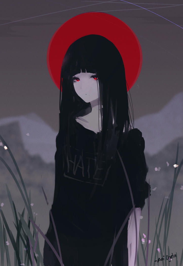 Hate Chan by AoiOgataArtist