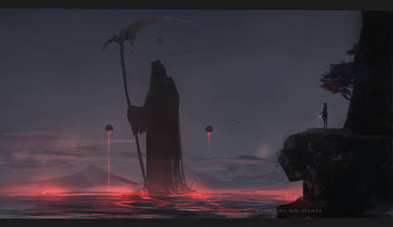Death territory by AoiOgataArtist