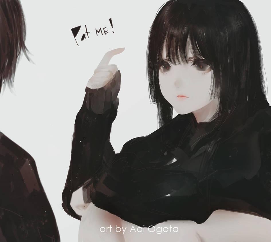Pat me ! by AoiOgataArtist