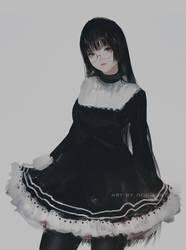 Meganekko by AoiOgataArtist
