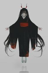 kimono by AoiOgataArtist