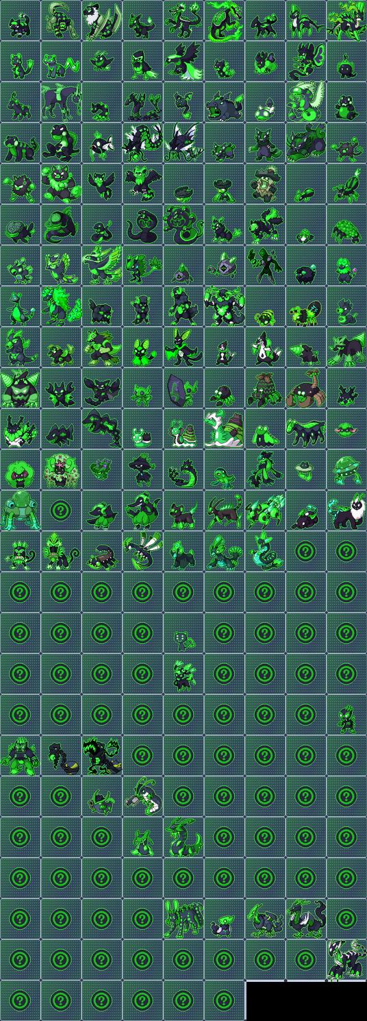 Pokemon Uranium Nuclear Dex WIP (Update: 2-2) by Exodus-Drake