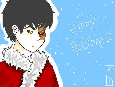 Zuko, Happy Holidays by zuko-fans