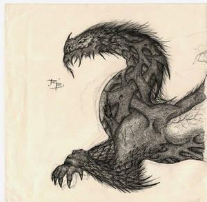 Ancalagon the Black by RobertBugan