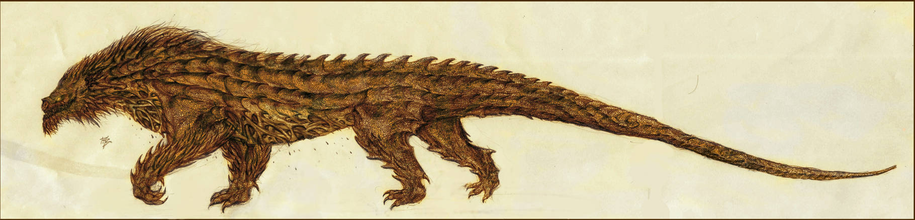 Glaurung unleashed by RobertBugan