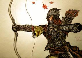 Doriath Warden by TarGrond