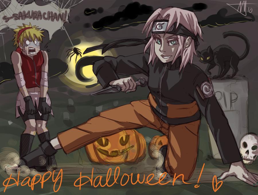Happy Halloween 2010 by starchiishio