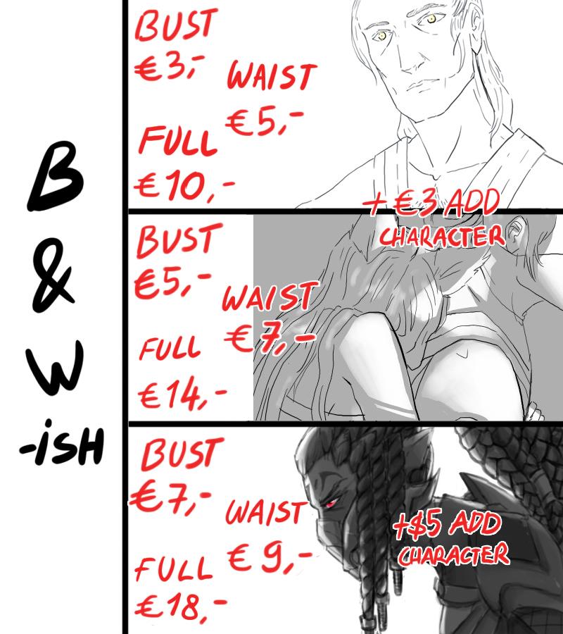 Bws Commissions by estewanii