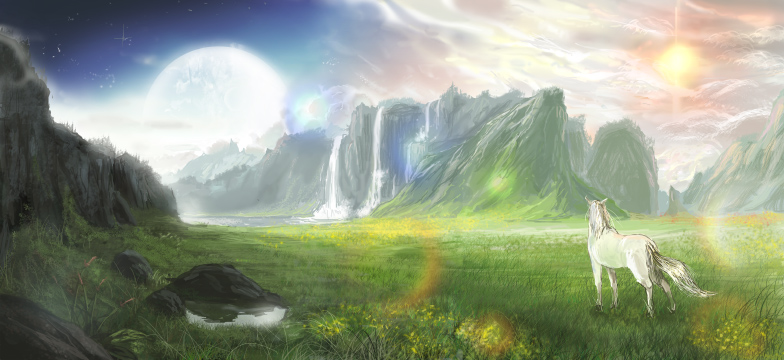 The fantasy world by nagatuki