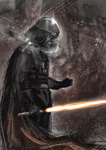 Darth Vader by nagatuki