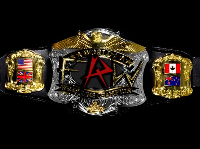 how to make world heavyweight championship belt